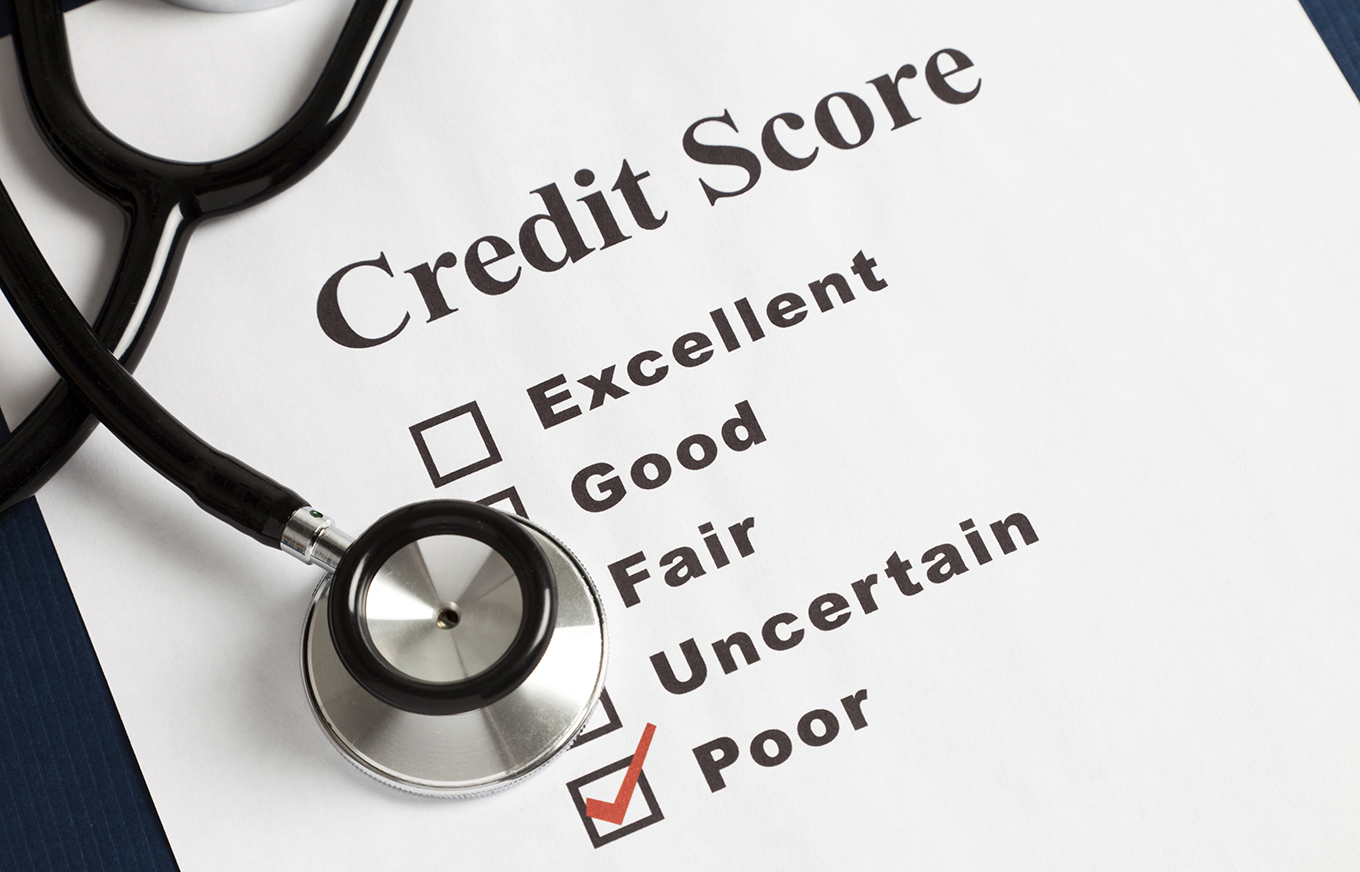 Stethoscope and Credit Report